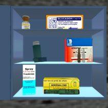 Serious Game ' Urgences médicales au cabinet dentaire ' : Les médicaments de l'urgence