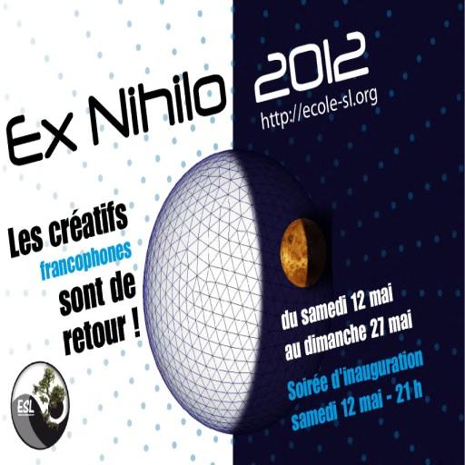 Ex Nihilo 2012 par l'Ecole de SL