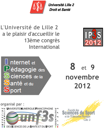 IP3S 2012, Lille